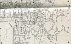 Mulholland Map 1956
