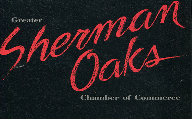 Sherman Oaks Chamber of Commerce Vintage Photo