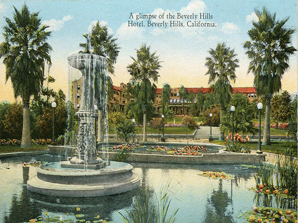 The Beverly Hills Hotel 1912 Vintage Image