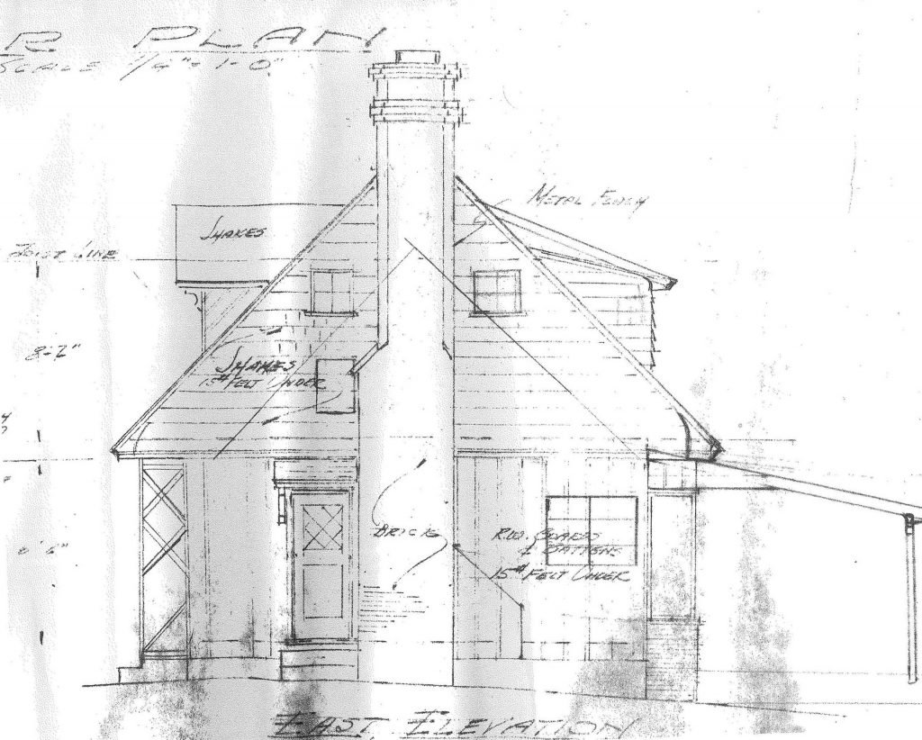 dwight babcock estate sketch