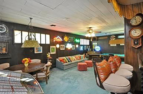 San Fernando Valley Rumpus Room Mid Century Recreation Van Nuys Ranch Home Vintage Los Angeles